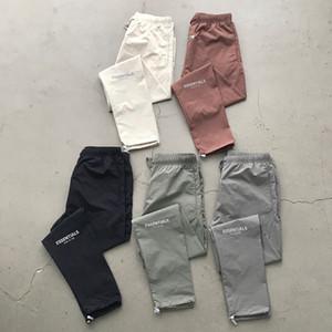 FEAR DE DIEU ESSENTIEL Pantalons athlétiques FOG Logo réfléchissant Pantalons simple Lightweight Pantalons Hommes Femmes Hip Hop Streetwear