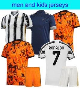 20 21 RONALDO PALACE maglie di calcio JUVE casa lontano Terzo DE Ligt Dybala Higuain kit camicia BUFFON Uomo Bambini di calcio 2020 Maglia 2021 uomo