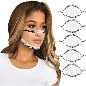 máscara manera Deaf mute Lip para sordos y mudos PET material de aislamiento multi-civil color anti-aire y el polvo BWB2408 suave transparente