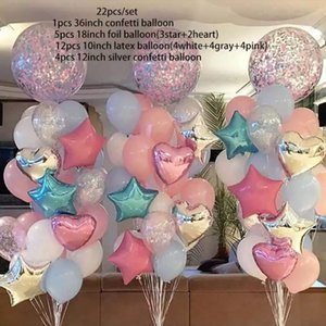 2020 New 36inch creative children's birthday party wedding decoration balloon combo set event venue atmosphere layout