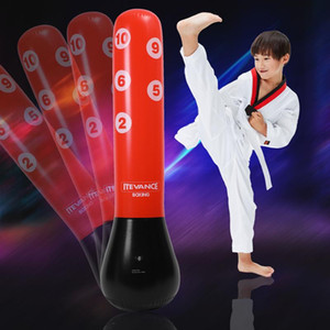 Tumbler Inflatable 1.6M Kick Boxing Fit With Gloves Punching Training Pump Kids For Adults Free-Stand Air Bag Inflatable Jrfjb