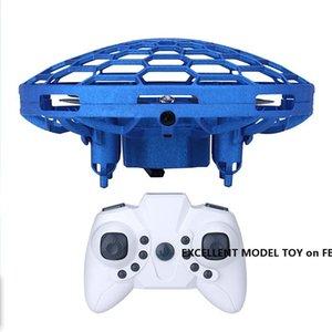 FLE-дистанционное управление UFO игрушка, жест, чувствуя интерактивный беспилотный дрон, высотные удержание Quadcopter, БПЛА с красочными огнями, рождественский подарок на день рождения, 3-3