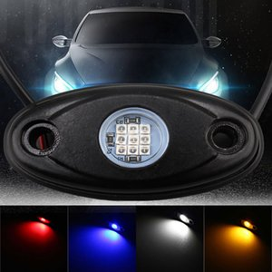 Auto Decoration Led Light Neon Atmosphere Lamp Underbody Rock Lights Universal Car Offroad SUV Truck Motorcycle