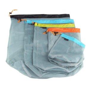 Ropa caso del recorrido de equipaje Acabado de compresión bolsa con cordón de la ropa interior de Viaje artefacto portátil sub-conjunto de paquetes
