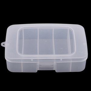 5 Compartments Waterproof Fishing Lure Bait Hook Tackle Box Storage Case