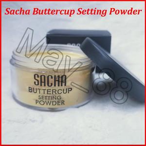Stokta var ! Yüksek kaliteli Sacha Buttercup ayar toz makyaj SACHA Yüz Pudrası gevşek toz DHL ücretsiz gönderim