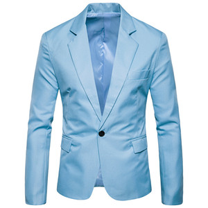 Men's Suits Classic Slim Blazers Long Sleeves Casual Clothing Fashion Mens Suits Wedding Groom High Quality Business Coat X01