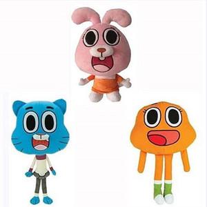 los niños juguetes de peluche juguetes de peluche El increíble mundo de Gumball por fiesta del bebé los regalos de juguetes 25cm