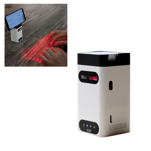 Virtuelle Tastatur Tragbare virtuelle Bluetooth-Laserprojektion-Tastatur mit Maus-Power Bank-Funktion für PC Android iOS Smartphone 11 Pro