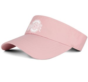 1Ohio State Buckeyes football logo white pink man and woman tennis hat truck driver design fit golf hat sports fashion baseball team cap