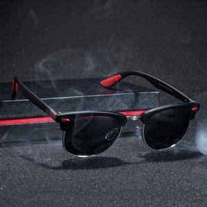 Sunglasses JAXIN Classic Polarized Men Retro Square Joker Sun Glasses Women Trends Goggles Gafas De Sol Hombre UV400 Okulary