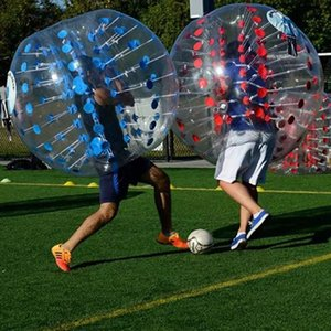 Free Shipping PVC Material Dia 1.5m Inflatable Bubble Soccer Ball Inflatable Bumper Ball Inflatable Zorb Ball Bubble Foot