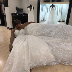 Gorgeous 2021 Plus Size Arabic Aso Ebi Wedding Dresses Vintage Lace Beaded Bridal Gowns Designer Dubai Wedding Gowns