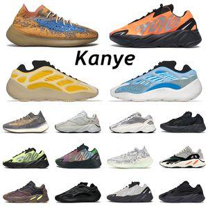 yeezy kanye west Black Static Antlia Synth Cremeweiß Herren Laufschuhe Gid Glow Clay Wahre Form Designer Schuhe Sport Damenschuhe 5-13