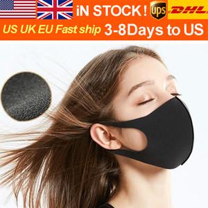 DHL / UPS polvo y neblina máscara adulta negro estrella infantil misma máscara de polvo y agua lavable