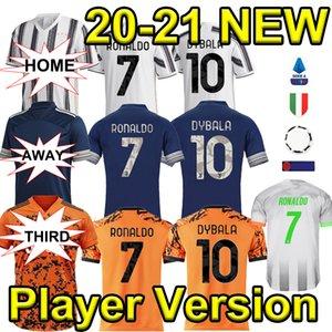 2020 desgaste 2021 Nueva versión del jugador de fútbol jerseys C.RONALDO Dybala D.COSTA jerseys del balompié 20 21 Tailandia Palacio Bernardeschi DE Ligt fútbol