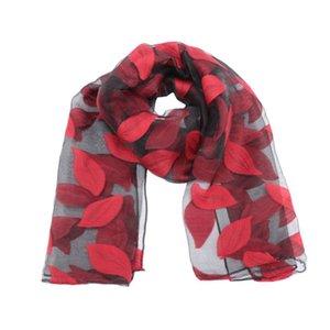 1 шт моды шелковый шарф женщин Summer Breeze Легкие Sheer Полотенце Wrap марли шарф Бич
