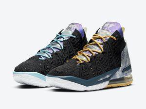 ليبرون الساخن 18 أحذية تأملات جيمس عصابة لوس انجليس يوم بواسطة كرة السلة مع أحذية صندوق جيمس الجنود XIV الرياضة المدرب أحذية حجم 7-12
