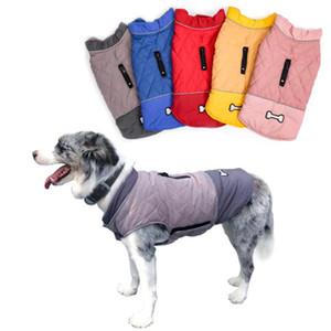 الكلب الملابس الكبيرة الكلاب سترة عكسها سترة الشتاء الدافئة معاطف ماء الملابس للماء الذهبي المسترد لابرادور بيتبول