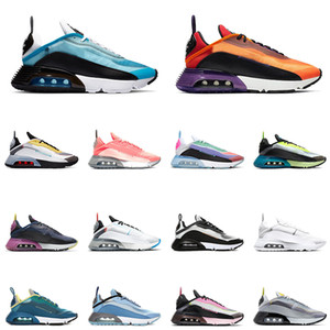 Nike air max 2090 airmax New Arrival B30 Fashion 2090 men women running shoes 2090s bred triple black white pink oreo mens sports sneakers trainers 36-45