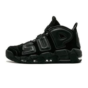 Moda Alta Qualidade do Ar mais Shoes Uptempo de Basquete Masculino Mulheres 96 QS Olímpico Varsity Maroon 3M formadores Sneakers Desporto 36-47