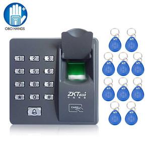 X6 Mini biometrico Fingerprint Access Control tastiera Finger Scanner per serratura con 10 frequenze RFID 125KHz telecomandi portachiavi