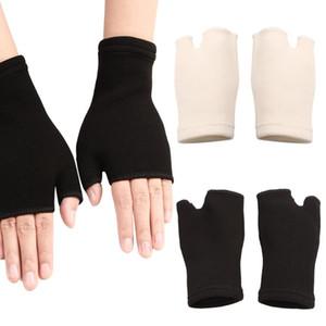 1Pair Симпатичные Палм перчатки Проветривайте запястья гвардии Поддержка Артрит Скоба втулки перчатки Упругие ладони рук под запястье