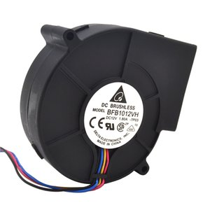 Original Delta 9733 turbo centrifugal cooling fan blower BFB1012VH 12V 1.80A wind capacity 97*97*33mm