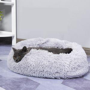 Dog Sofá-cama Mat longo Plush Super cão Soft Cama Kennel Cat House Para Chihuahua grandes animais suprimentos acessórios produtos