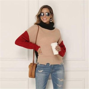 Sweater Autumn Fashion Trend Plus Size Bottoming Sweater Designer New Female Long Sleeve Slim Turtle Neck Tops Clothing Women Casual Loose