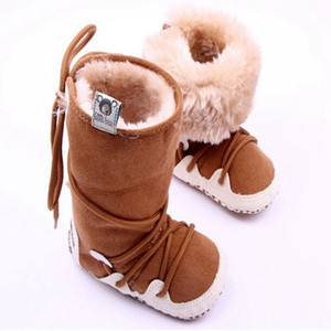 Infant Fashion Snow Boots First Walkers Shoes Baby Girl Boy Soft Skid-Proof Bottom Warm Baby Booties Zapato Scarpe Neonata
