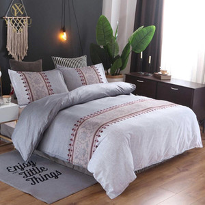YuXiu Luxury Boho Bed Linens Quilt Duvet Cover Set 2 3pcs Bedding Sets Single Full Twin Queen King Size Home Textiles
