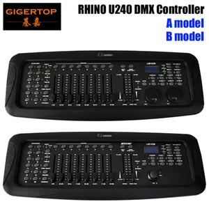 Freeshipping Rhino U240-Konsole Led-Anzeige Audioeingang Mini In Buchse Mini-Bühne Licht Controller für Gleichheits-Licht / Moving Head