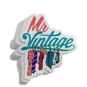 Top vendite per adesivo impermeabile vinile adesivo colorato, Die personalizzato stampa di etichette Cut Sticker con alta qualità