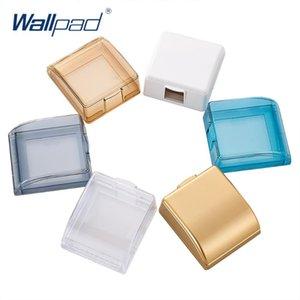 86Type Wallpad Su geçirmez 86 * 86mm Duvar Geçişler İçin Kutu Ve Soket 6 Renkler İsteğe Bağlı 45 * 95 * 110mm Ücretsiz Kargo