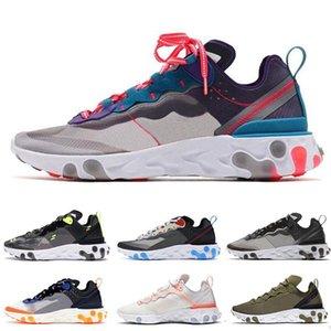 Новая мода Лучшего качество реагировать элемент 87 55 ZoomX Виста Grind кроссовки мужчина женщины Дизайнерской атлетики красной черные тренер кроссовки