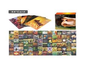 Harmonies Tabelle 84pcs Parteien Expension Karten Tarot Dixit Set Familie für Game Cards Gathering Karten Spielbrett Mxgrx garden2007