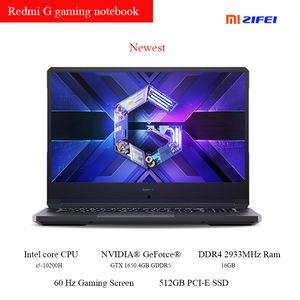 Gaming-Laptop 16.1 Zoll -10200H CPU 16GB DDR4 2933MHz RAM 512 GB PCIe SSD 4GB GDDR5 Gaming-Karte Notebook-Laptops
