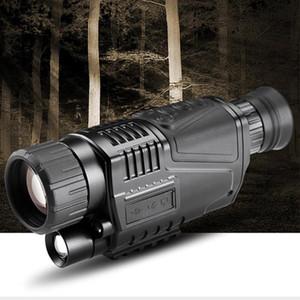 Videocamere 8-24x30 Zoom Telescope Infrarossi Night Vision Vision Dispositivo monoculare Scope 200m Range