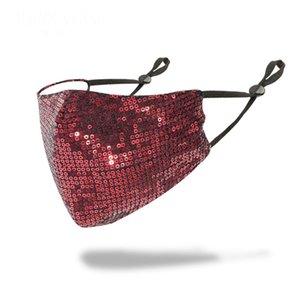 Женщины Девушки Необычные Магия Защитная маска для лица Ночной клуб Показать Блестки партии Cosplay DesignerFace маска # 513