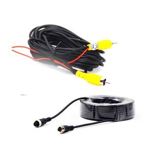 자동차 후방 카메라 주차 600 만 비디오 확장 무료 배송 BYNCG AV 케이블 범용 자동 RCA AV 케이블 와이어 하네스