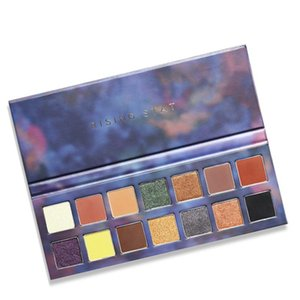 14 Colors Matte Eye Shadow Makeup Soft Glitter Shimmering Colors Metallic Eyeshadow Palette Glitter Makeup TSLM2