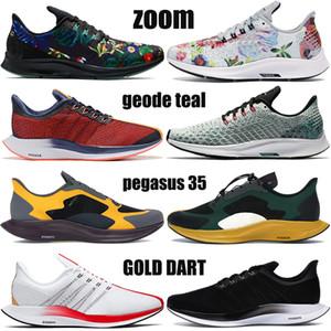 koşu ayakkabıları Yeni Pegasus 35 turbo köpük çiçek siyah beyaz altın dart siyah engin gri gerçek moda erkek kadın spor ayakkabısı olmak Büyütmek