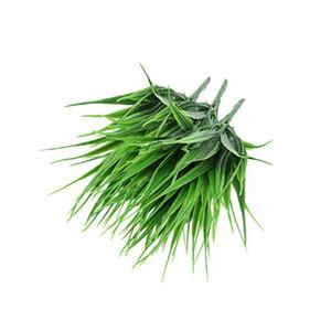 3pcs extérieur artificiels Plantes Faux plastique Verdure arbustes herbe de blé Bush Potted Plant Simulation 7 Fourche Printanier
