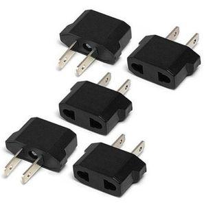 US USA to EU   EU AU to US Euro Europe Power Converter Adapter Jack Wall Plug Converter Travel Adapter 50PCS free shipping