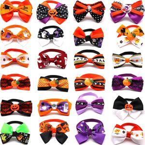 HOT 200pcs Halloween pet Bow Tie cães e gatos suprimentos engraçados roupas para cães gravata borboleta T500175 ajustável roupas para cães