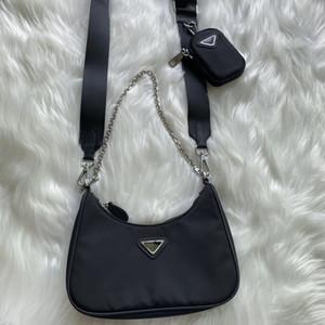 luxurys дизайнеры 2020 Женская мода сумки посыльного нейлоновые сумки на ремне сумки женщин Crossbody сумки седло мешок вещевой мешок