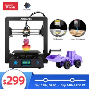 ANYCUBIC Mega Pro лазерной гравировки 3D принтер Печать 3d принтеры с TMC2208 Laser Printer Upgrade Версия Mega S