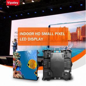 TV Color Full HD P1.25 Indoor LED cortina di visualizzazione fisso Display a LED dello schermo del pannello Video Wall per la pubblicità