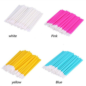 100Pc Lip Brushes Professional Make Up Brushes Tools Disposable Lip Gloss Applicator Eye Shadow Cosmetic Makeup Colorful